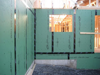 Zip System Sheathing On Ranch Style Home Home