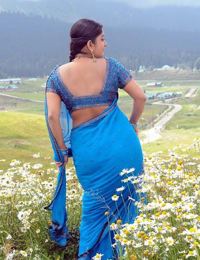 Malayalam Actress Blue Film  The Best Bollywood Dress-6165