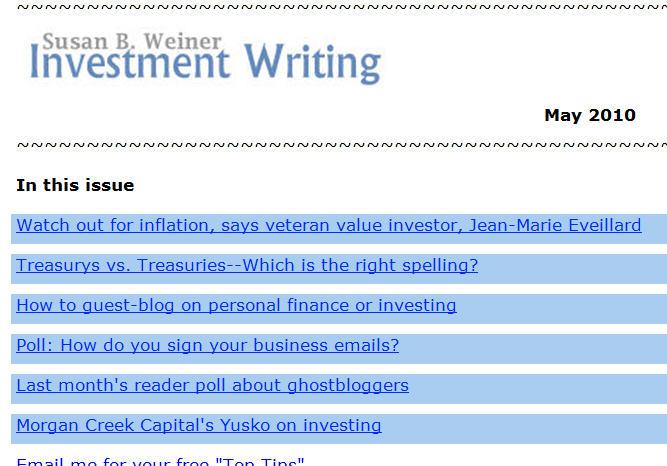 If you enjoy my #CFA2010 tweets    - Susan Weiner's Blog on