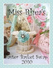 Such fun!! Rhea's Easter Basket Swap!!!