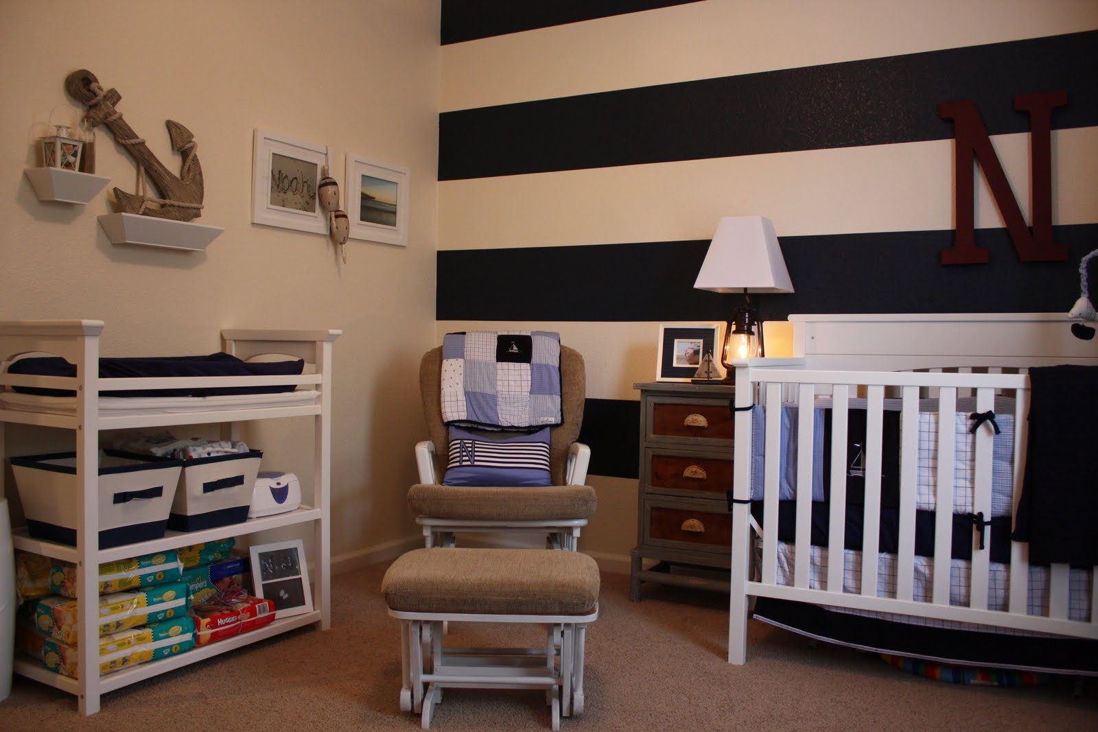 Growing Up Gardner Noah S Nautical Nursery