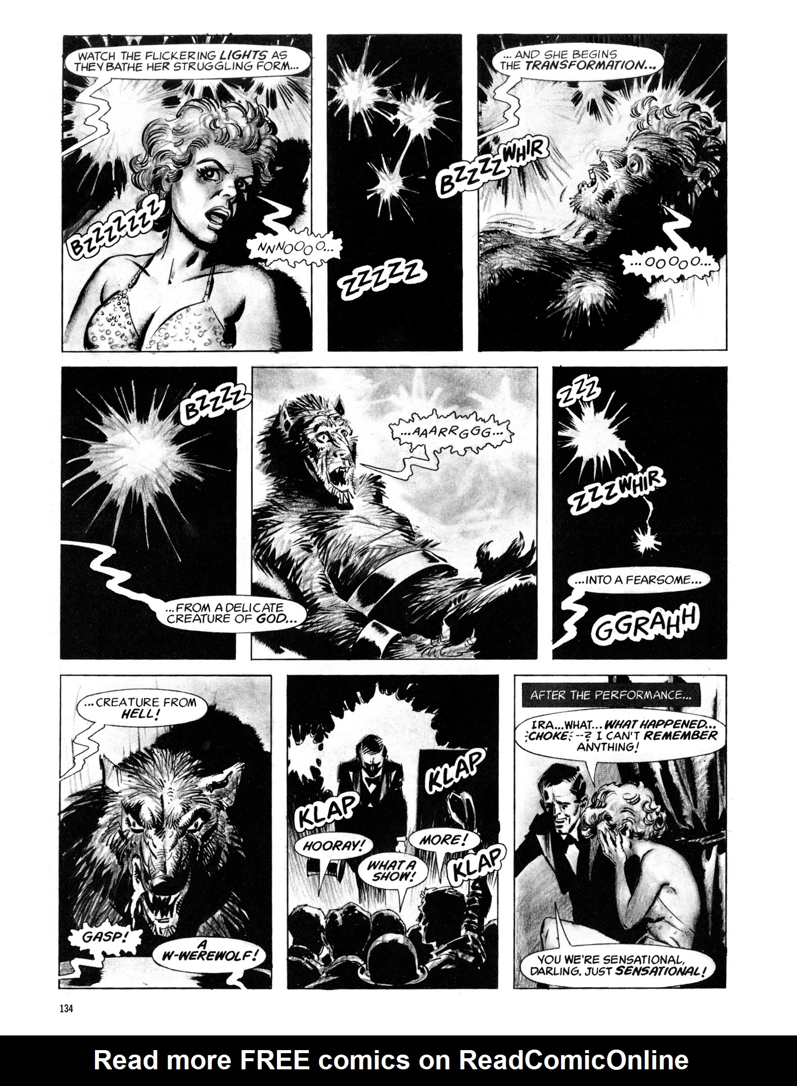 Read online Eerie Archives comic -  Issue # TPB 18 - 135