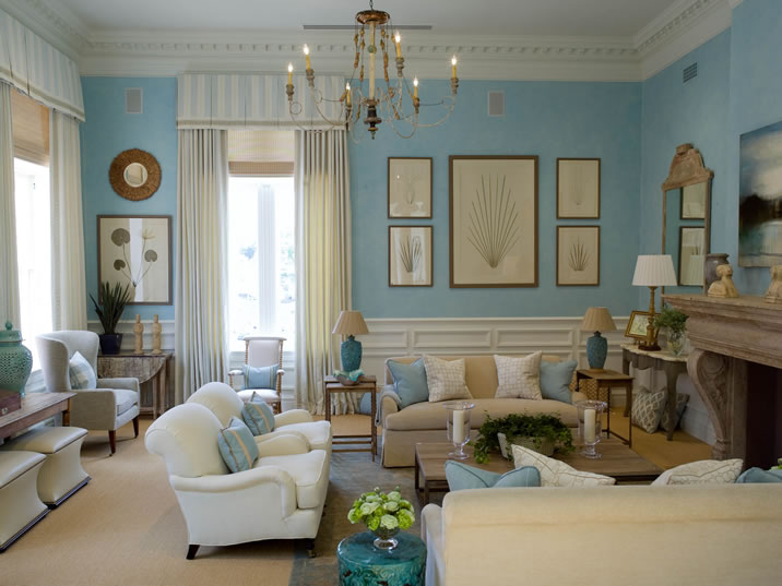 How to Decorate Living Rooms English Country