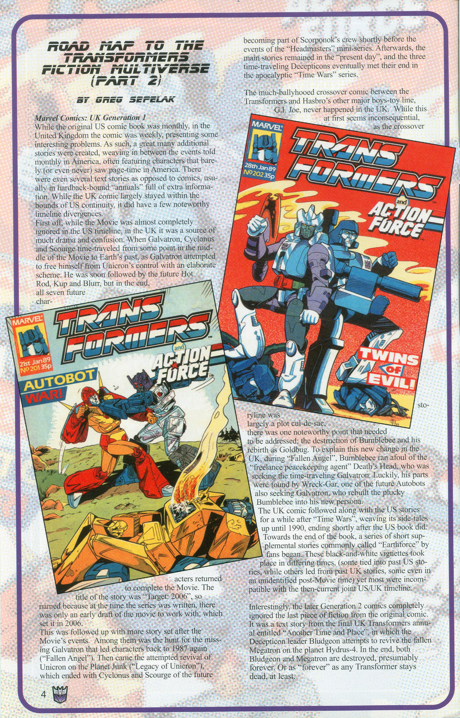 Read online Transformers: Collectors' Club comic -  Issue #9 - 4