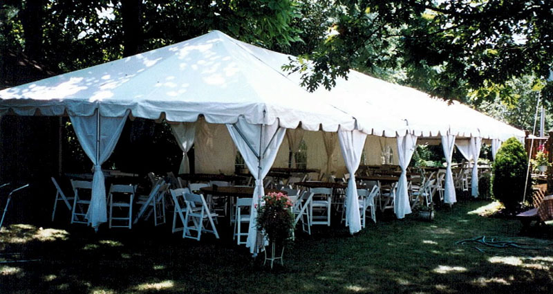Merry Brides: How to Choose an Outdoor Wedding Tent Size ...