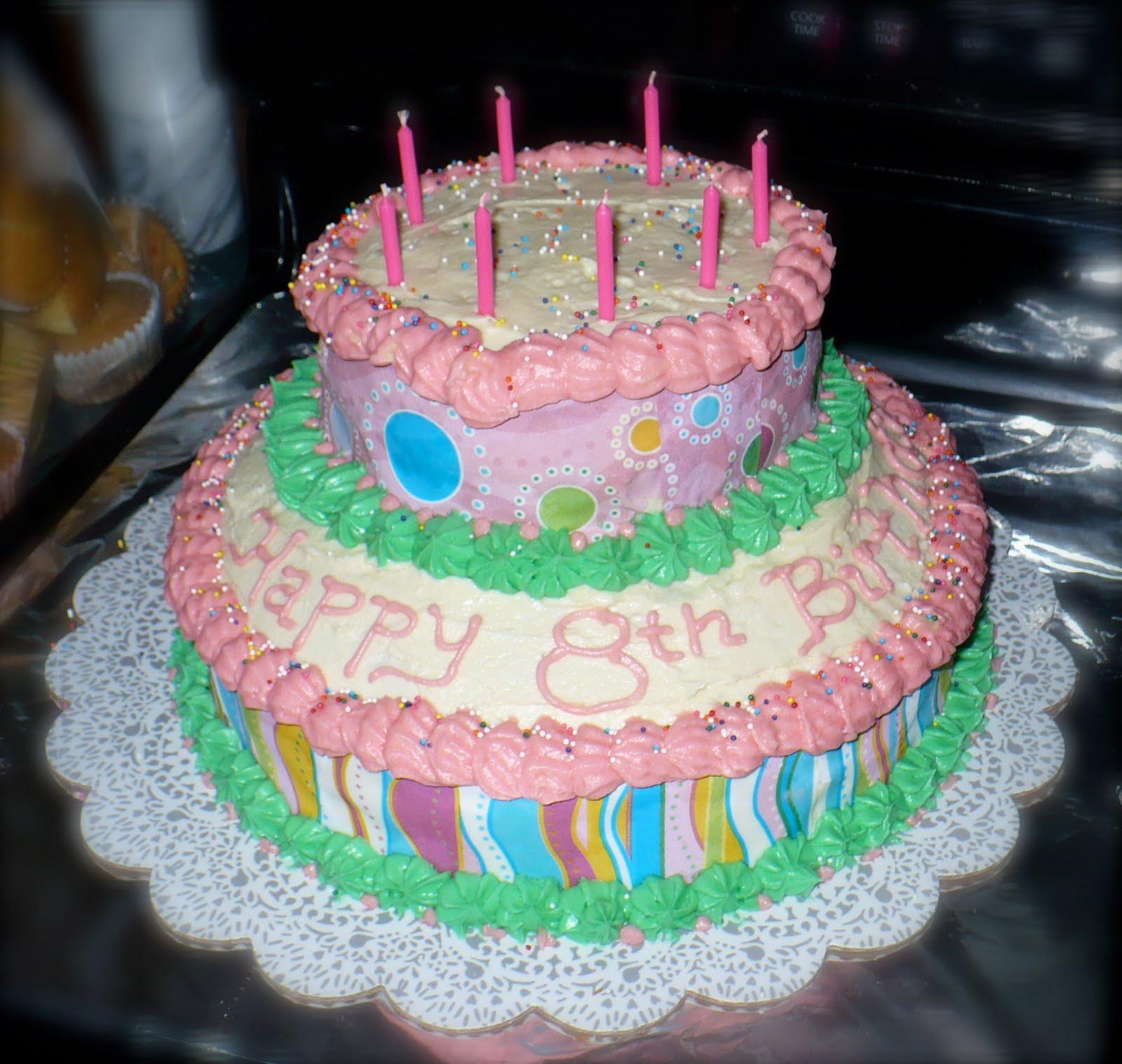 Pete's Island: Girls 8th Birthday Cake