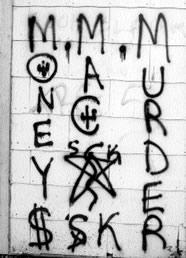 Ann T  Hathaway: Gang Graffiti--Links and Notes