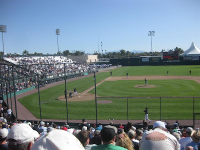 arizona, spring training baseball, peoria, stadium, mariners, diamondbacks