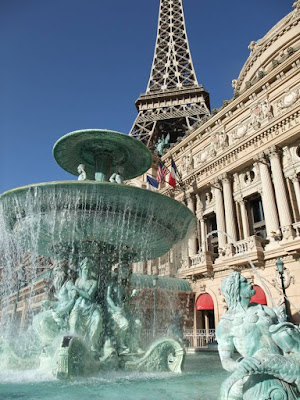 Las Vegas, Paris Hotel, fountain, strip