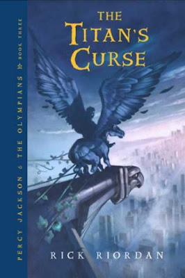 rick riordan, the titans curse, bad book, review