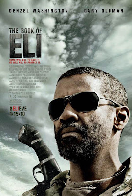 the book of eli, denzel washington, movie review, movie poster