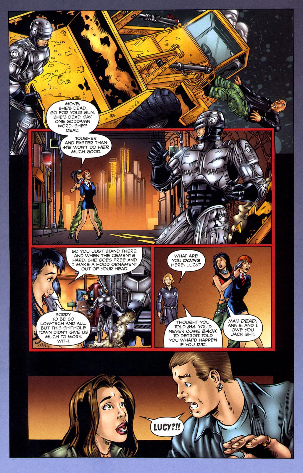 Read online Robocop: Wild Child comic -  Issue # Full - 13