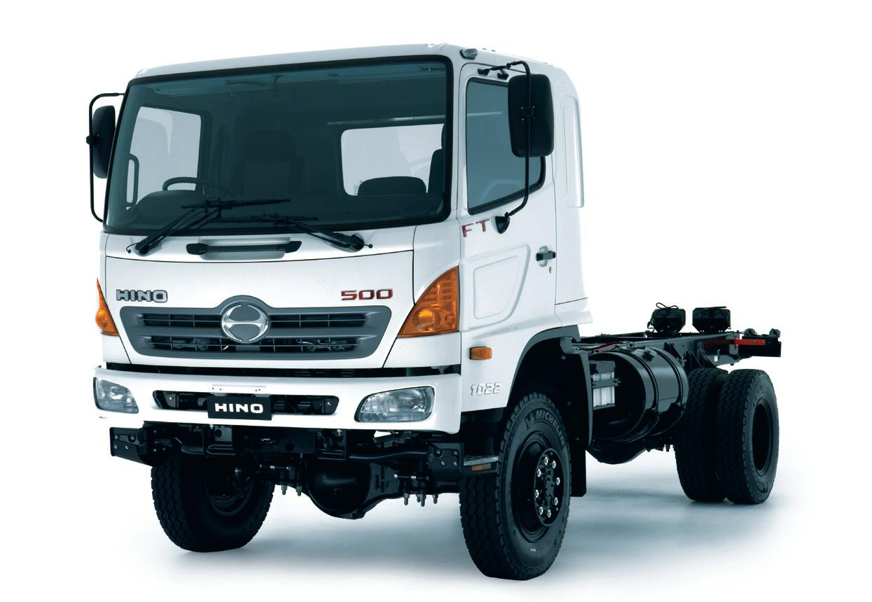 Commercial Truck Success Blog: Hino Medium Duty Tilt Cab