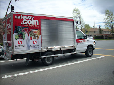 Commercial Truck Success Blog: A Safeway com Delivery Truck in the Hood