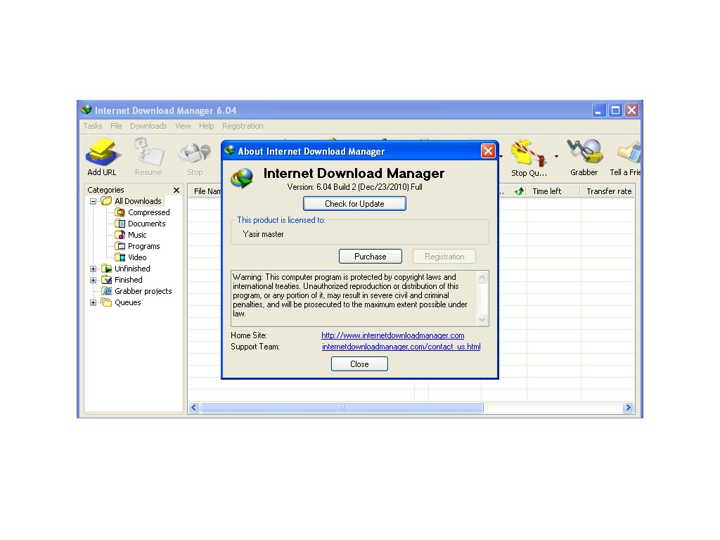 How To Make Server Sound Good On Resume Cyber Software And Mobile Internet Download Manager 6 04