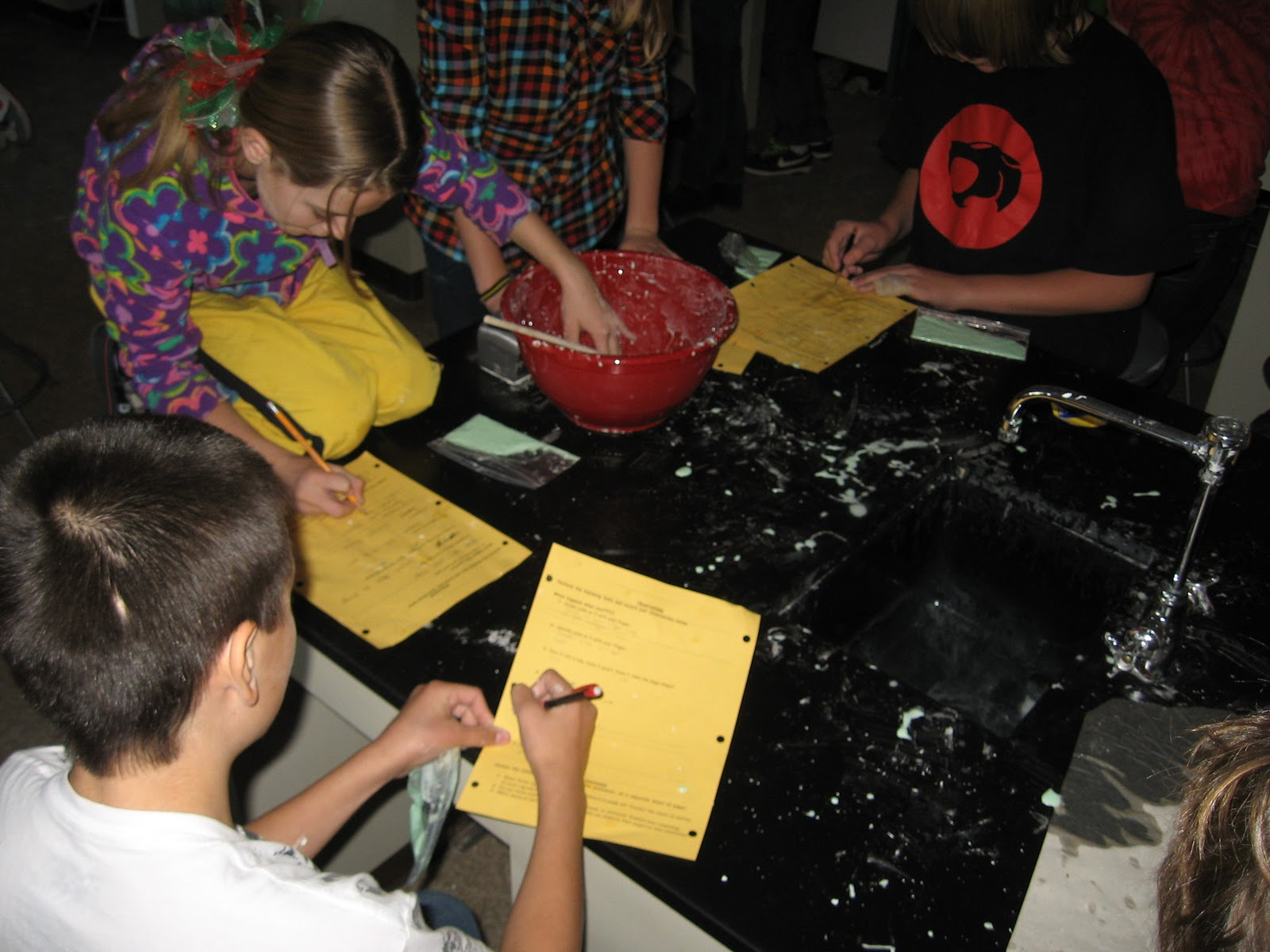 My Math And Science Classroom Oobleck Activity
