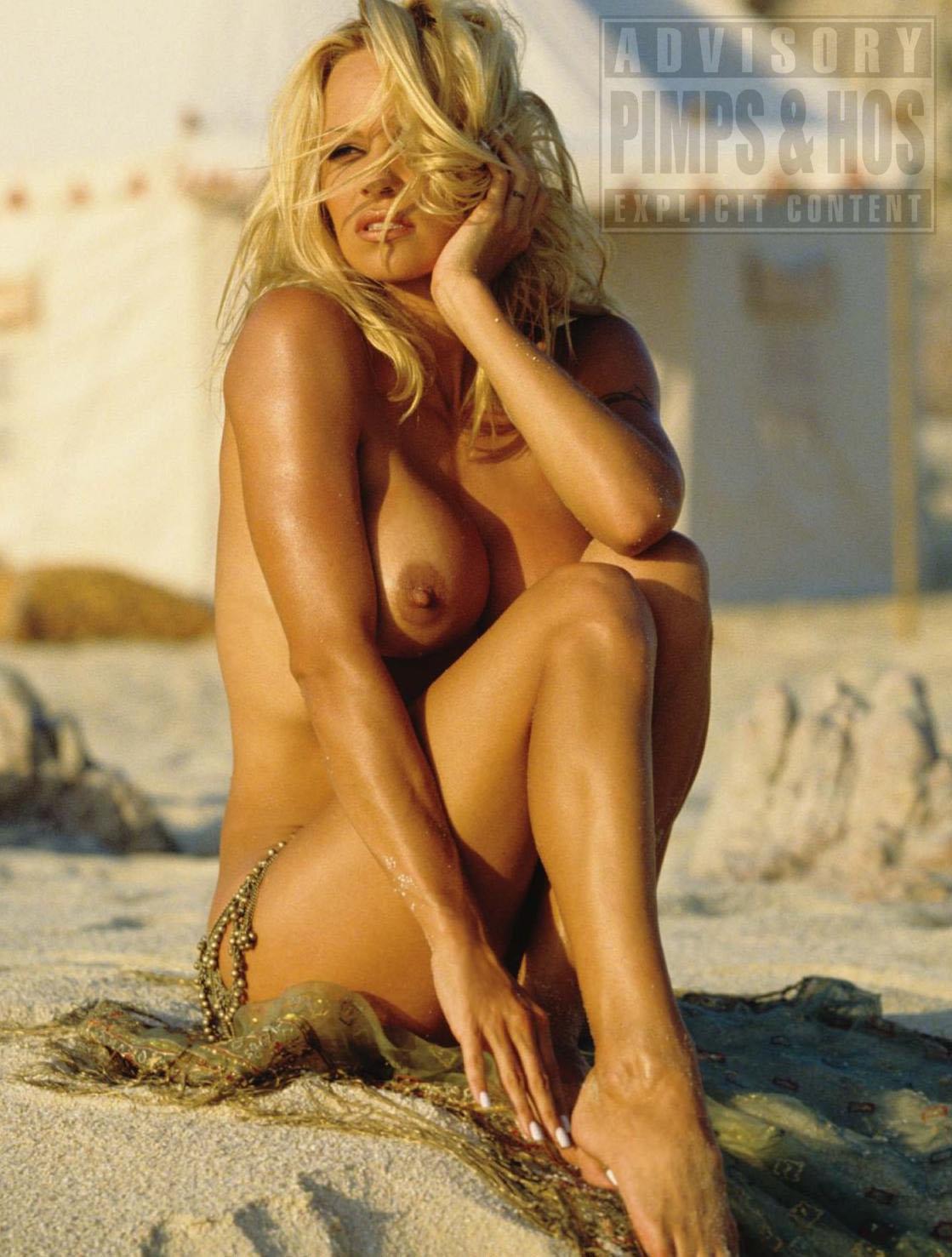 Something Pamela anderson on nude beach