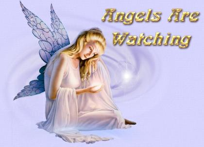 Angels are watching
