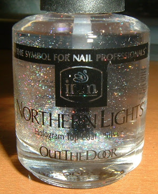 Review Out The Door Northern Lights Holographic Top Coat