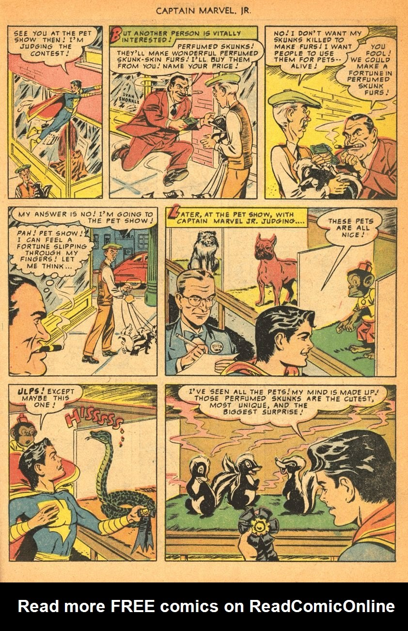 Captain Marvel, Jr. issue 84 - Page 22