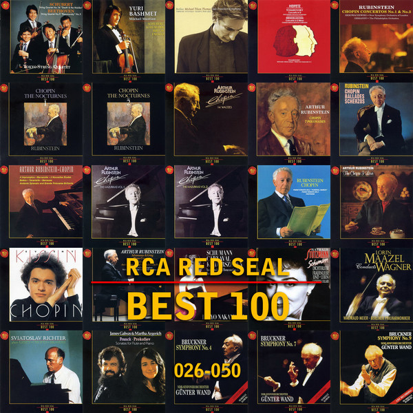 rca red seal best 100 cd