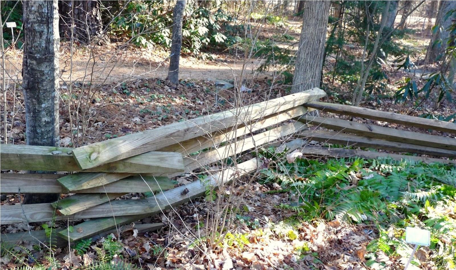 Rustic Wooden Fences