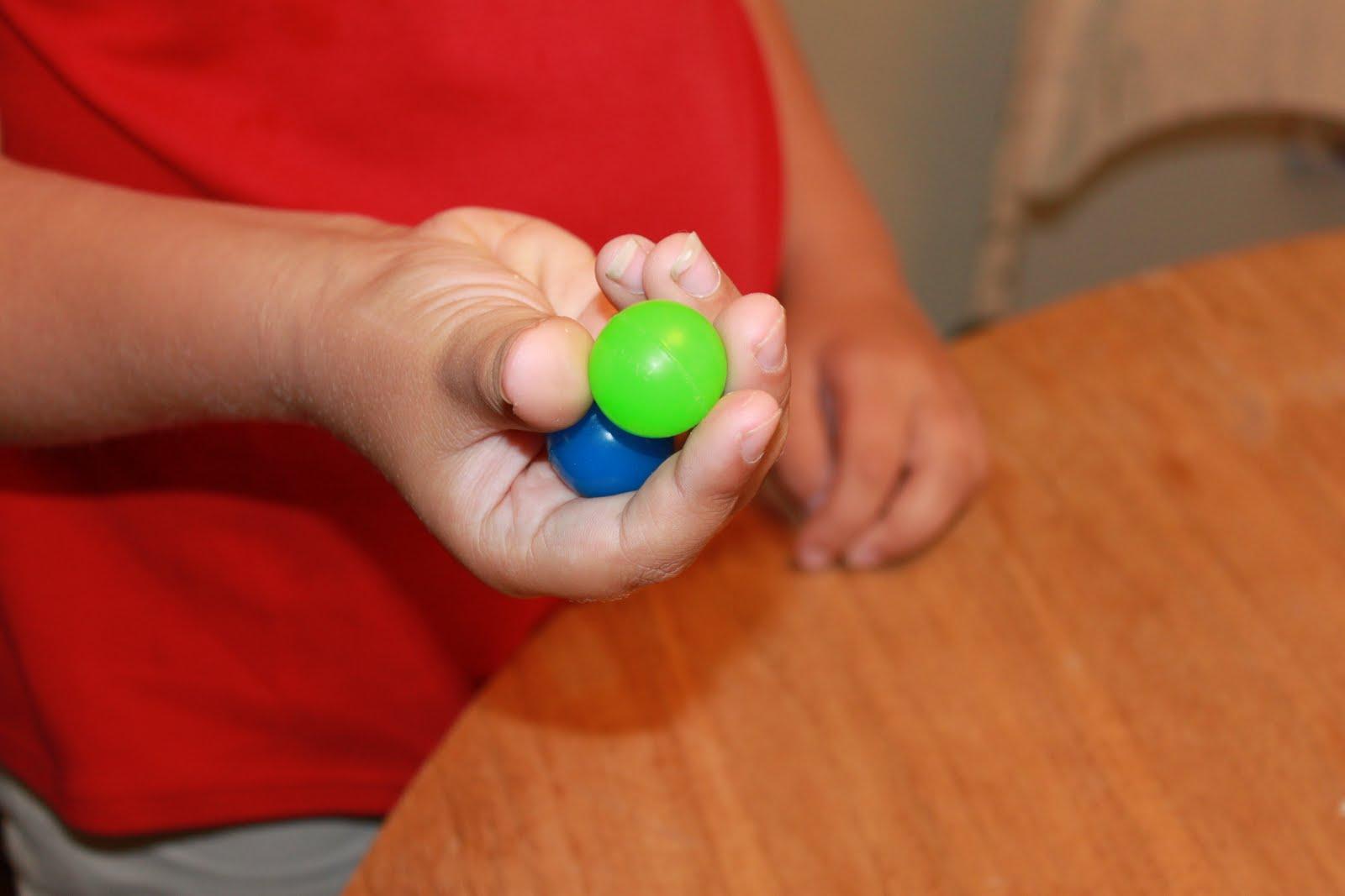 Bouncy Ball Hand Skills