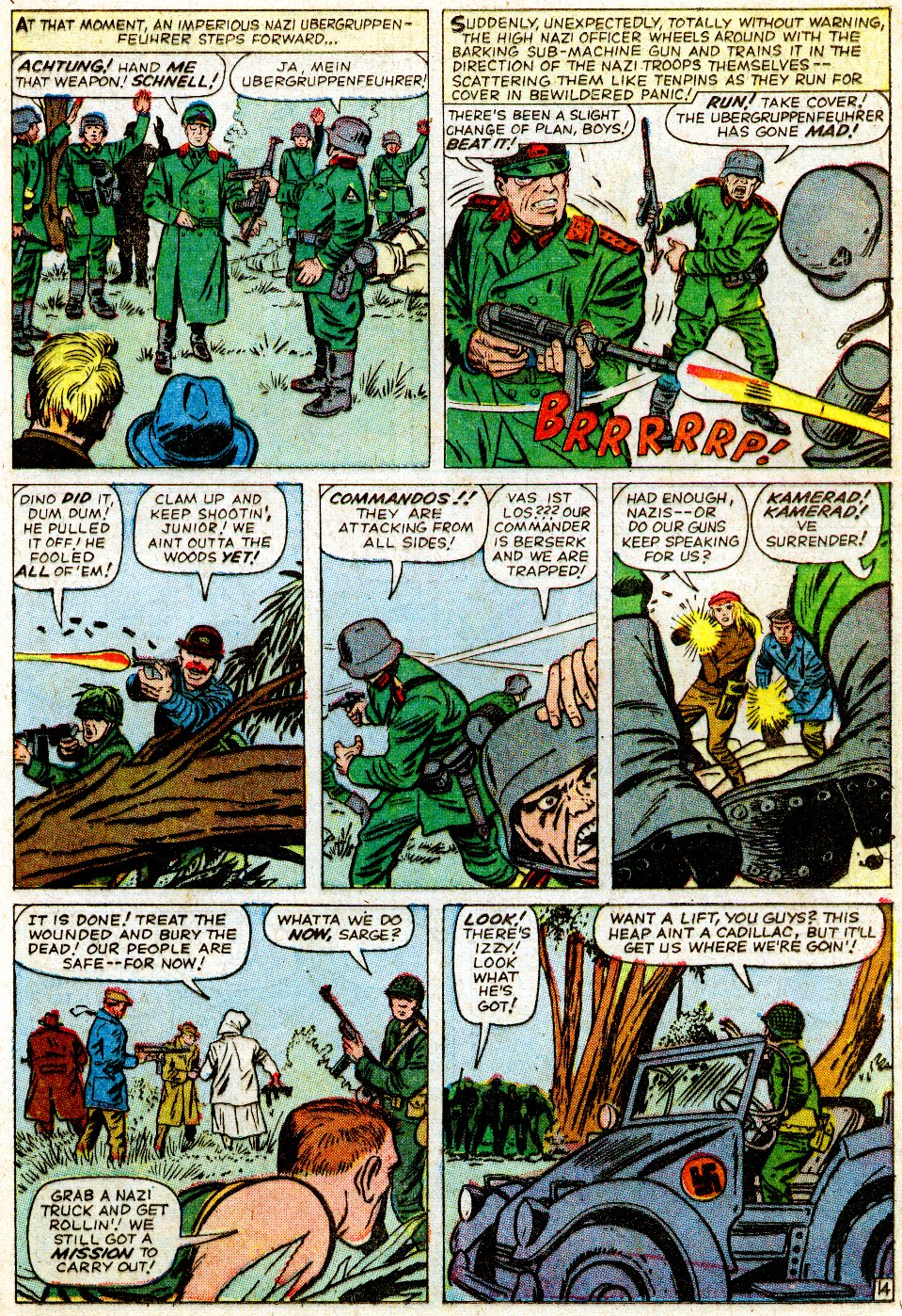 Read online Sgt. Fury comic -  Issue #1 - 21