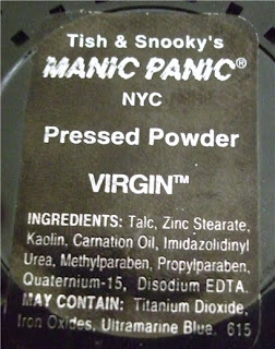 Virgin White Pressed Powder by manic panic #7