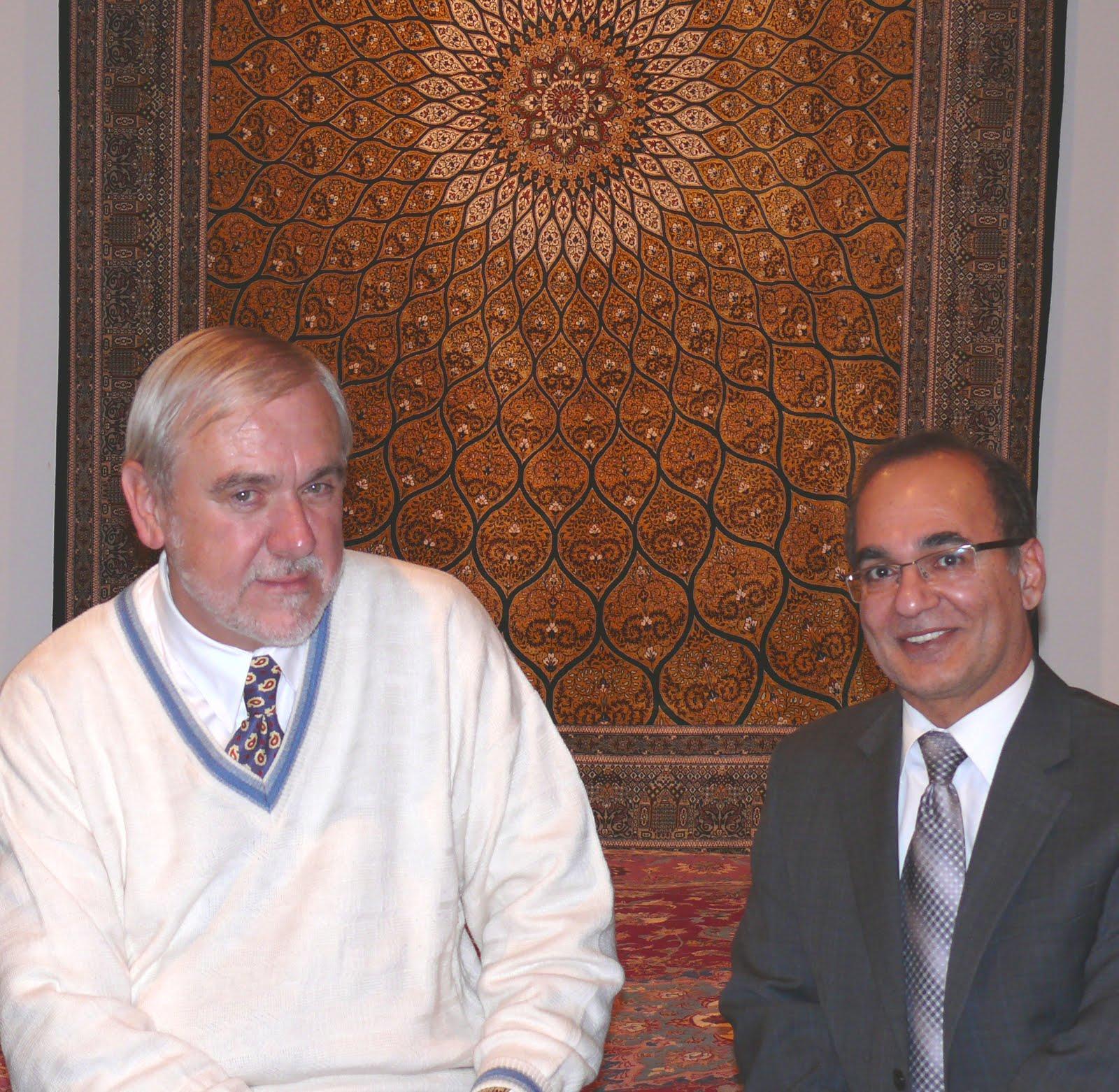 Dr James Turner And Mr Abbas Keshmiri Jpg