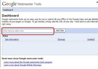verifikasi google webmasters tool