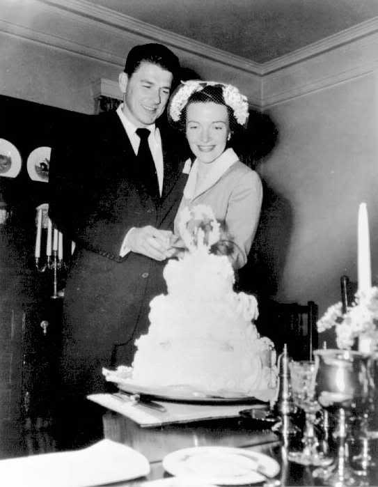 Ronald Reagan Birthday Cake