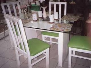 COMEDORES 1* - de maderas/vidrio - Decoractual - Diseño y Decoración
