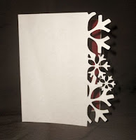 Snowflake Card - Free SVG Download