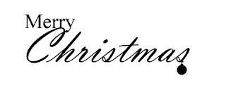 Merry Christmas Page Title free svg