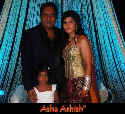 Asha Ashish: Prakash Raj Pony Verma reception photos