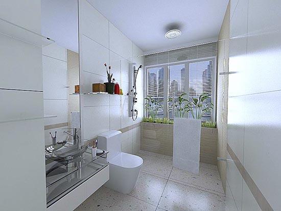 Inspiring Bathroom Designs For The Soul: EV DEKORASYON HOBİ: Küçük Banyolar Için öneriler