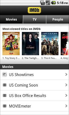 IMDB, imprescindible para los amantes del cine y la TV