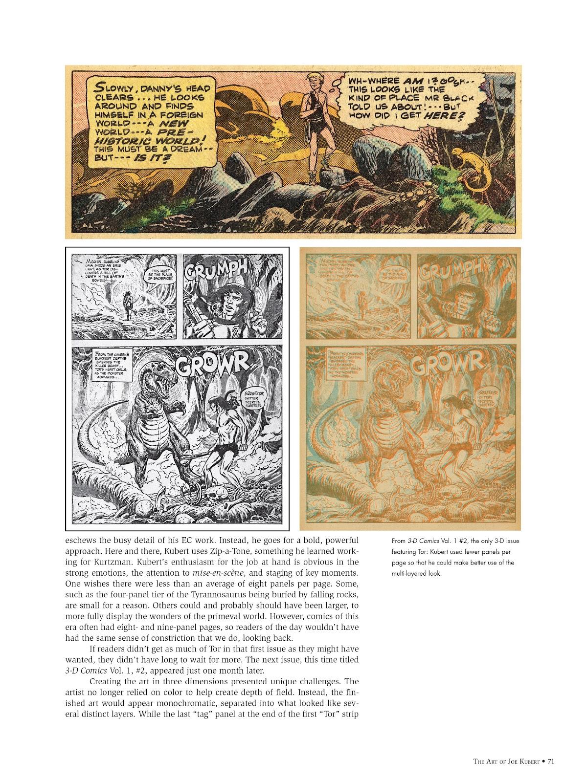 Read online The Art of Joe Kubert comic -  Issue # TPB (Part 1) - 70