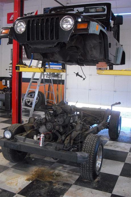ARB and Cap-it Jeep TJ Off Road Project: October 2010