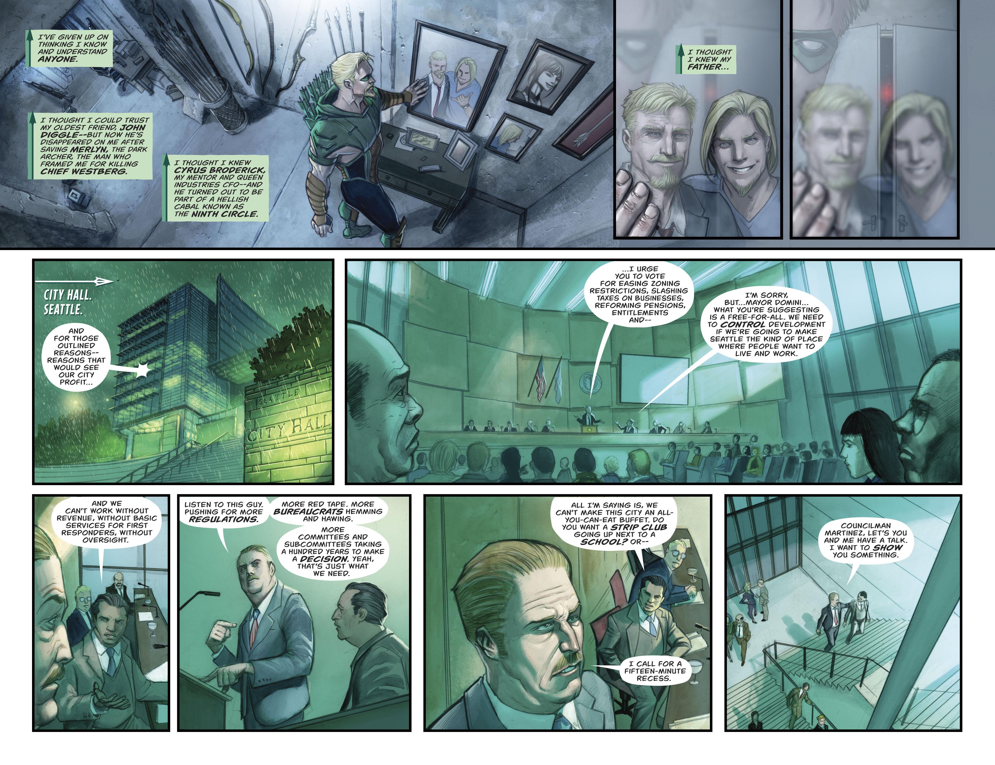 Read online Green Arrow (2016) comic -  Issue #21 - 11