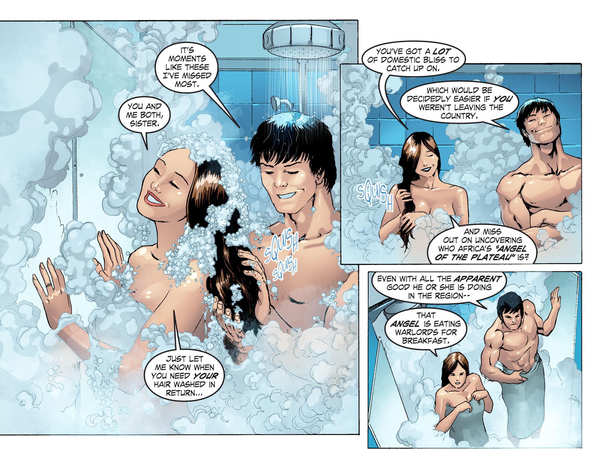 Read online Smallville: Season 11 comic -  Issue #42 - 12