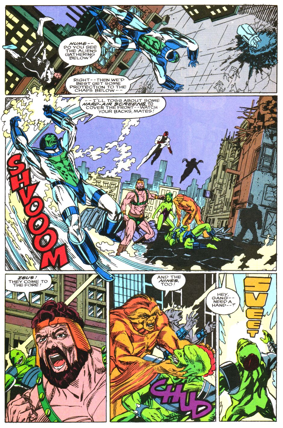 Read online Alpha Flight Special comic -  Issue #3 - 16