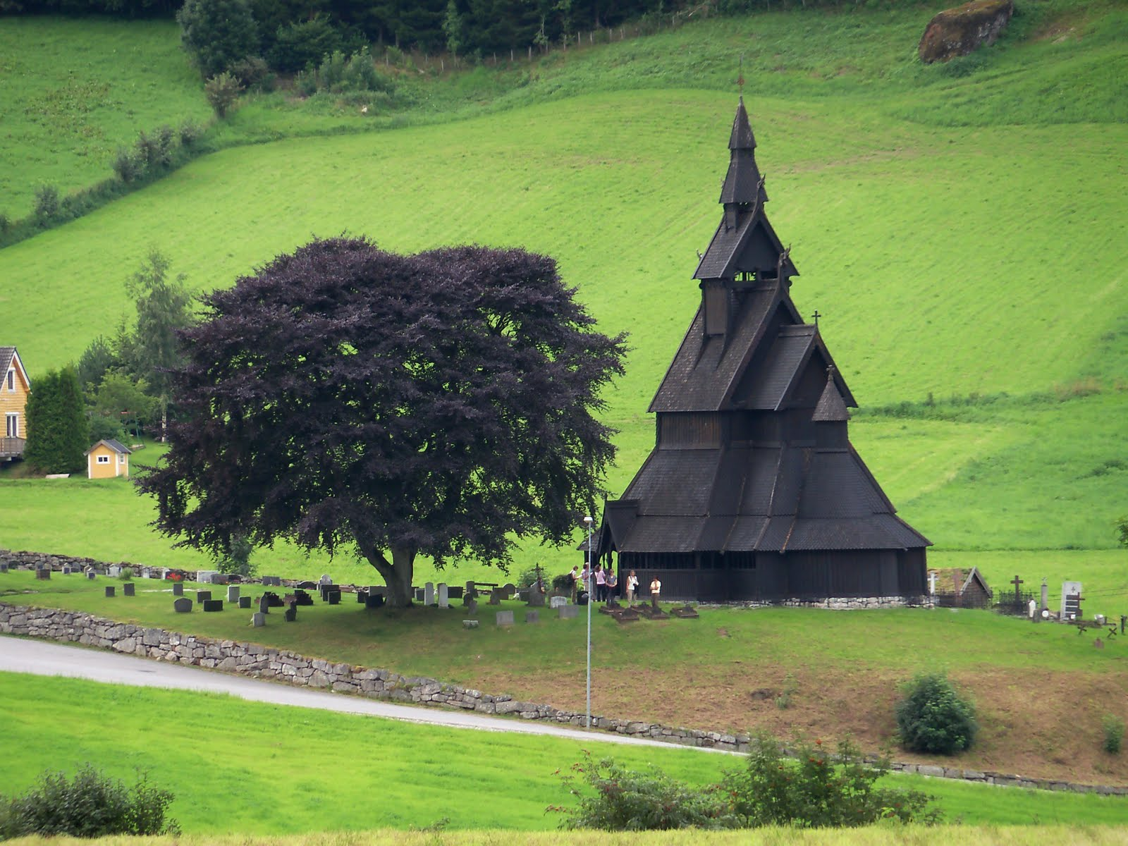 The Hoppersteads Life In Ireland Hopperstad Stave Church