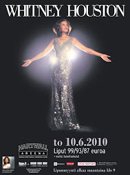 Whitney Houston Hartwall Areena 10.6.2010
