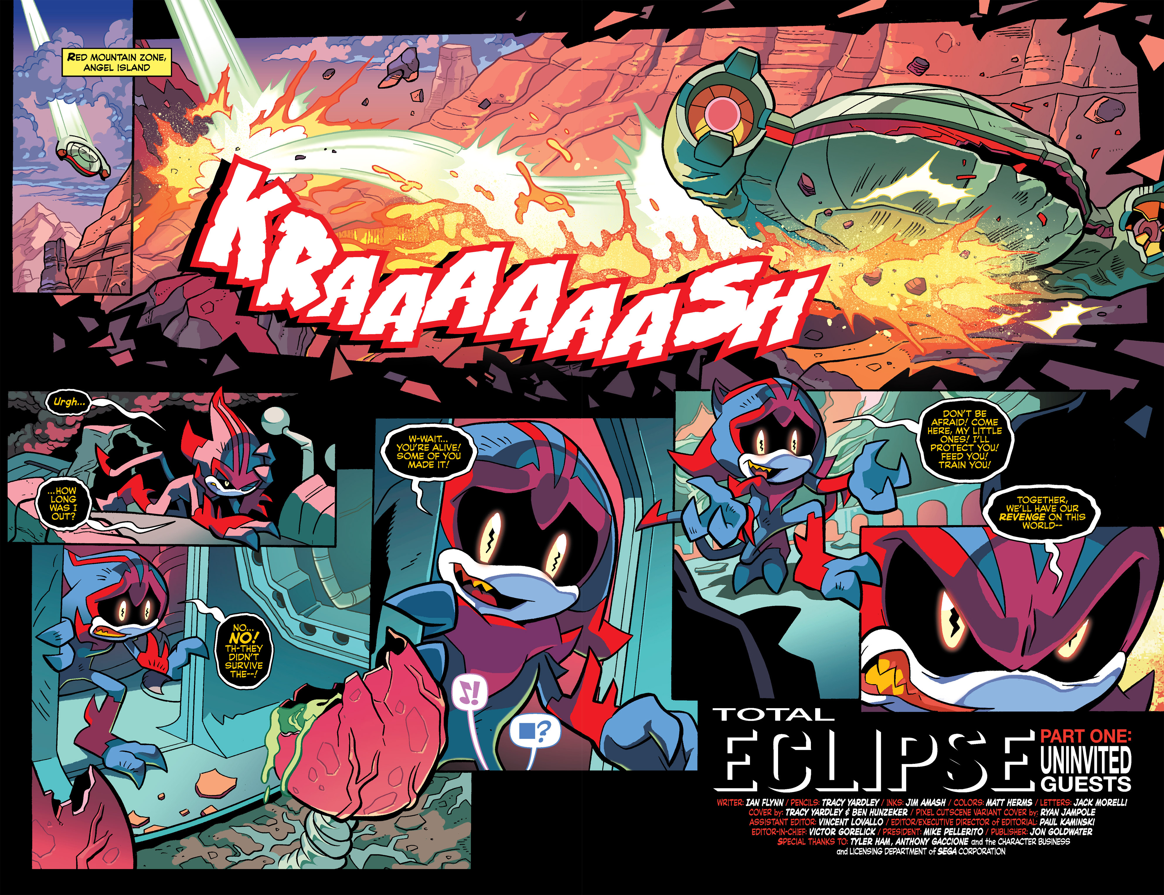 Read online Sonic Universe comic -  Issue #67 - 4