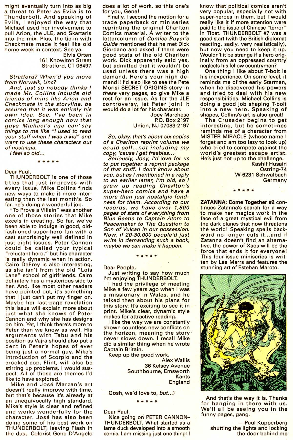 Read online Peter Cannon--Thunderbolt (1992) comic -  Issue #12 - 25