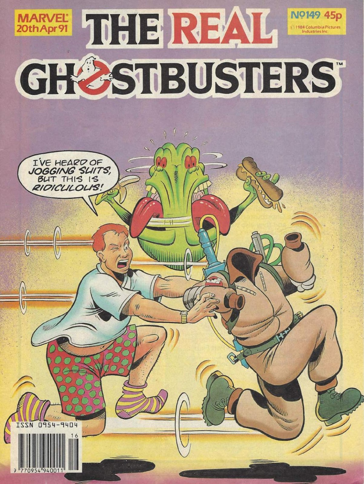 The Real Ghostbusters 149 Page 1