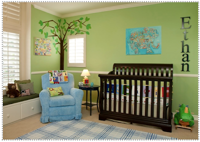 Custom nursery art by kimberly featured designer little - Little crown interiors ...