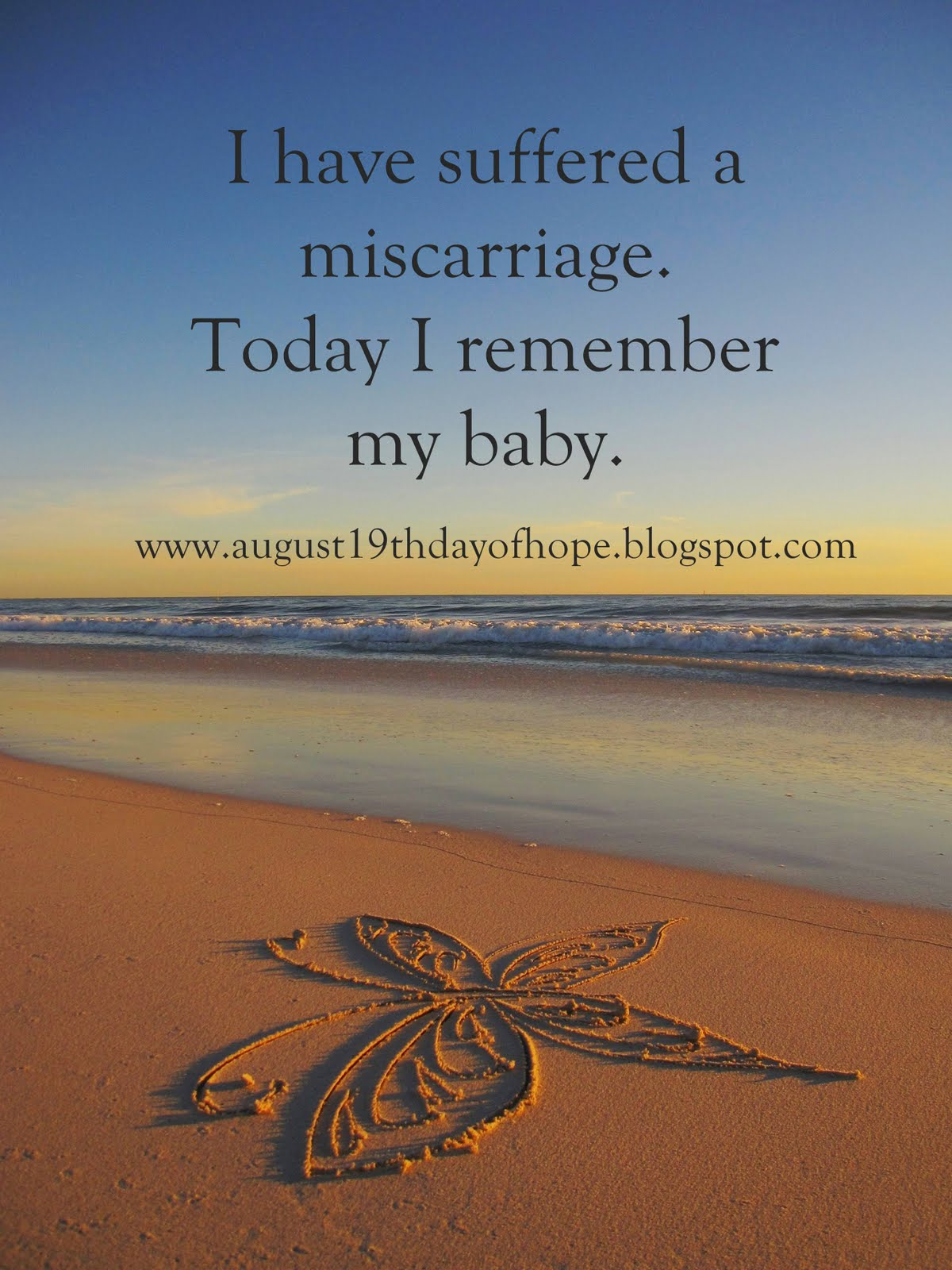 Words Of Encouragement Miscarriage - Bean Quotes m